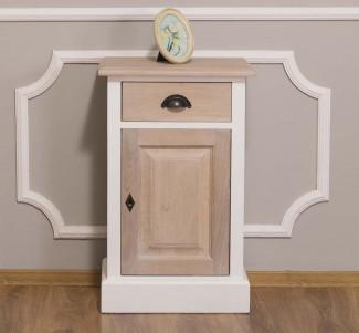 Noptiera cu deschidere dreapta Colectia Oak&Pine - Culoare Brad_P004 - Culoare Stejar_P035 - DUBLU COLOR